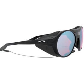 Oakley Clifden Lunettes de soleil, polished black/prizm snow sapphire